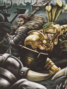 Heroes of the Empire, Karl Franz and Valten the exalted
