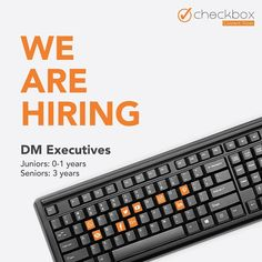 Wanna be part of an enterprising and enthusiastic team?  Come and join Checkbox Marketing Agency to explore the world of opportunities.  Connect with us to grow -  Checkbox  Reach us on: Lead@checkbox.co.in  Visit: www.checkbox.co.in  #wearehiring #digitalmarketingexpert #digitalmarketing #checkboxmarketing Check Box, We Are Hiring, Fun Activities, Digital Marketing, Connection, Join, Explore, Exploring