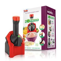 Cherry Red Yonanas now available with Free Shipping to the Continental U.S. on Yonanas.com!