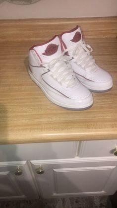 c415c1594dc Air Jordan Retro 2 White Red Sz 10.5 #fashion #clothing #shoes #accessories  #mensshoes #athleticshoes (ebay link)