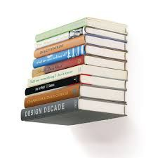 Great idea for storing books - a concealed Book Shelf - large is only Creative Bookshelves, Floating Bookshelves, Bookshelf Design, Bookcase Shelves, Metal Shelves, Storage Shelves, Shelving, Metal Bookcase, Book Shelves