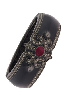 Chateau Black & Ruby Red Cuff on HauteLook