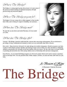 "A Beacon of Hope Women's Center ""The Bridge"" Brochure"