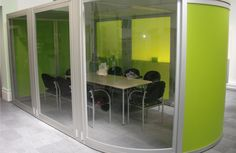 A meeting pod in Northampton Central Library. This could house a smart board for small group presentations.
