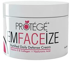 EmFACEize Daily Moisturiser Cream - Anti-Ageing Moisturising Day Cream with Antioxidants + Firms Skin and Reduces Wrinkles and Fine Lines + Fortified with Collagen + Vitamin E + Hyaluronic Acid + Almond Oil (60 ml) - http://best-anti-aging-products.co.uk/product/emfaceize-daily-moisturiser-cream-anti-ageing-moisturising-day-cream-with-antioxidants-firms-skin-and-reduces-wrinkles-and-fine-lines-fortified-with-collagen-vitamin-e-hyaluronic-acid-almo/