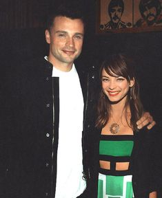 Clana AKA Clark and Lana AKA Kristin Kreuk and Tom Welling form Smallville