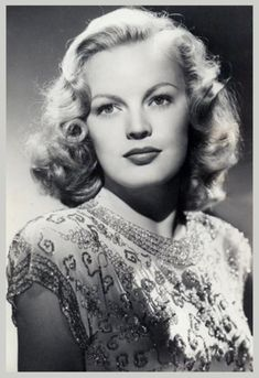 June HAVER (1926-2005) * AFI Top Actress nominee. Notable films~ Irish Eyes Are Smiling (1944); Where Do We Go from Here? (1945); Three Little Girls in Blue (1946); Summer Lightning (1948); Look for the Silver Lining (1949); Oh, You Beautiful Doll (1949); The Girl Next Door (1953);