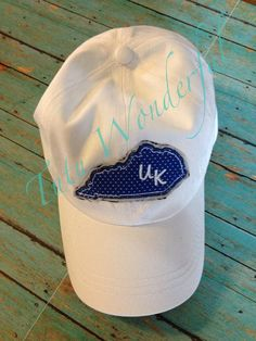 Raggy UK Kentucky patch hat ball cap by TutuWonderful on Etsy, $15.00