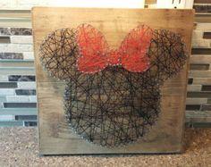 Pumpkin nail string art by TheNailedMitten on Etsy