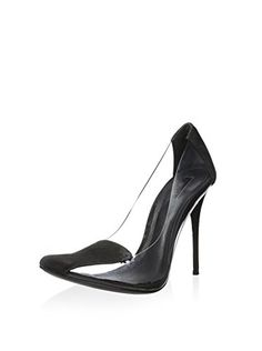 www.myhabit.com  Loaded with futuristic flair, this transparent pump features a slim stiletto heel