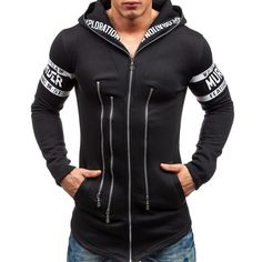 Assassins Creed Male Hoodies Fashion Casual Cool Zippers Up Hooded Sweatshirts Tops Hip Hop Clothing Hoodies Free Shipping