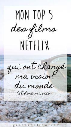 TOP 5 des films NETFLIX qui ont changé ma vision du monde - Best of pins! Good To Know, Feel Good, Films Netflix, Top Film, My Values, Positive Attitude, Change Me, Better Life, Feel Better