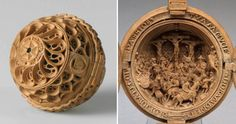 16th-Century Prayer Nuts