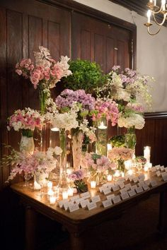wedding escort card table idea; Brian Hatton Photography
