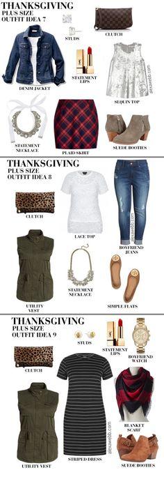 fc8073291fb Plus Size Thanksgiving Outfits - Plus Size Holiday Outfit - Plus Size Fall  Outfits - Plus
