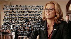 Madam Secretary Photos: 16. Bess's testimony proves she's the woman for the job. on CBS.com