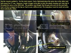 OEM 3rd row seat install on JKU | Jeep Wrangler Forum Jeep Wrangler Tops, Jeep Wrangler Forum, Rear Seat, The Row, Oem