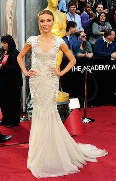 Giuliana Rancic at the 84th Annual Academy Awards in Tony Ward