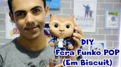 DIY - Fera Funko POP em Biscuit A Bela e a Fera