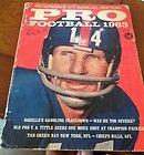 PETERSEN'S PRO FOOTBALL 1963 NEW YORK GIANTS Y.A. TITTLE - 1963, FOOTBALL, GIANTS, PETERSEN'S, Tittle, Y.A., York