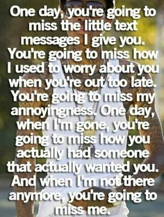 Too true. Oh how I miss you