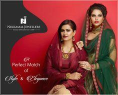Antique Allure! Available at Nikkamal Jewellers, Ludhiana & Jalandhar Showrooms. #nikkamaljewellers #gold #diamond #polki #kundan #platinum #watches #jewellery #indianjewellery