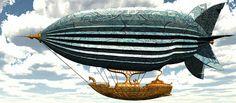 "Steampunk airship (via steampunk for kids) + draw steampunk ideas with ""Sendy: Steam-Paint Kids Art"" iPad app https://itunes.apple.com/us/app/sendy-steam-paint-kids-art/id580983785?mt=8"