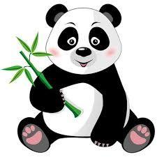 cute cartoon panda cute cartoon panda bears clip art cartoon rh pinterest com panda bear clip art free cute panda bear clipart