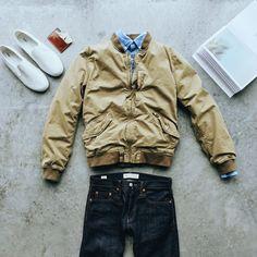 Springtime layers and classic jeans. #nothingbutdenim Shop new arrivals at Gap: gap.com