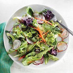 20-Minute Salad Recipes: Radish Salad with Orange Vinaigrette | CookingLight.com
