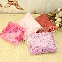 Confetti For Dekorasjon / Fylling favør boksene (flere farger) – NOK kr. 12