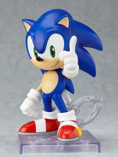 Retro gamers might remember zooming through level after level and collecting ring after ring while playing the classic Sonic the Hedgehog video game on the Sega Genesis. Perhaps you are still playing the most recent titles that have released just in the past few years? Either way, this Nendoroid pays proper respect to the speed legend, Sonic. You can recreate many of your memorable gaming moments ...