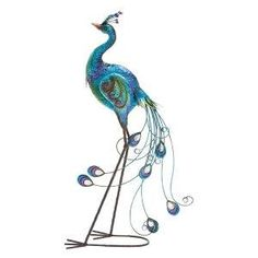 Peacock Garden Statue In Metal Yard Sculpture | Peacock Things | Pinterest  | Yard Sculptures, Garden Statues And Peacocks