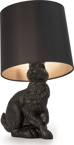 The Rabbit lamp by Front is faithful to the true dimensions of the animal bringing a touch of nature in fairytale style and genuine madness. By rejecting abstraction and taking inspiration from a livi