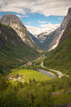Beautiful Photos of Norway - Style Motivation Places Around The World, Oh The Places You'll Go, Places To Travel, Places To Visit, Around The Worlds, Beautiful World, Beautiful Places, Lillehammer, Bergen