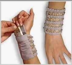 Tutoriales y DIYs: Monedero pulsera