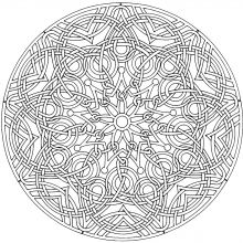 display image mandala complex and anti stress mandala coloring pagesadult coloring pagescoloring bookscolouringrelaxing