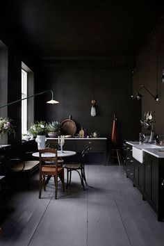A Kitchen To Dream In - Our Favorite Dark Living Spaces - Photos