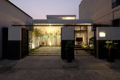Contemporary Vietnamese Home in Ho Chi Minh City Charms with Fancy Indoor Garden