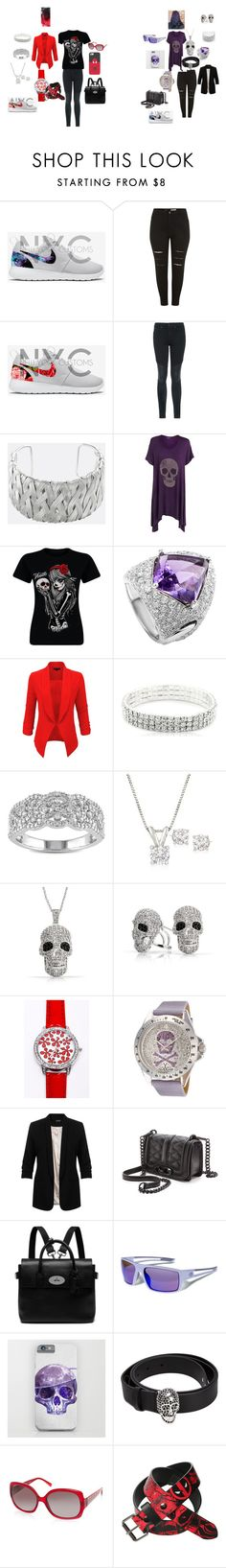 """MOVIE NIGHT WITH GODDAUGHTER"" by amarra-jade on Polyvore featuring Joe's Jeans, Avenue, WearAll, Chimento, LE3NO, Miadora, Ross-Simons, Bling Jewelry, Toy Watch and Miss Selfridge"