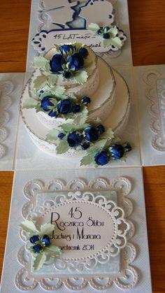 Papierowa pasja: Box na rocznicę Memories Box, Cute Box, Pretty Box, Wedding Boxes, Wedding Cards, Box Cards Tutorial, Organizer Box, Exploding Box Card, Pop Up Box Cards