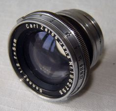 Zeiss-Jena-Sonnar-50mm-f2-Contax-Rangefinder-lens-coated