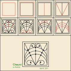 Chauwi  zentangle