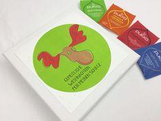 Adventskalender - Teebox inkl. PUKKA Tee - Elch - ein Designerstück von Deingastgeschenk bei DaWanda