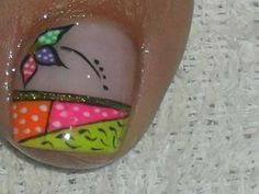 Toe Nail Art, Toe Nails, Hello Nails, Toe Nail Designs, Manicure, Lily, Nail Bling, Designed Nails, Work Nails