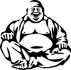 Buddha Decal - $4.99 - Handmade Handmade Supplies, Crafts and Unique Gifts by The Spot  #Buddha #Buddhadecor #Buddhadecal