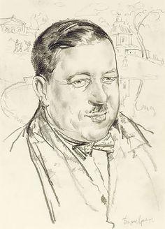 Giclee Print: Portrait of the Artist Ilya Mashkov by Boris Dmitryevich Grigoriev : Ways Of Seeing, Paris, Gradient Color, Portrait, Find Art, Framed Artwork, Giclee Print, National Parks, Museum