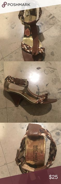 Michael Kors wedge sandals Great condition Michael Kors gladiator wedge sandals size 8. Really comfortable. Michael Kors Shoes Wedges