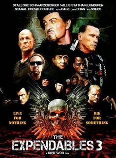 The Expendables 3 [2014] [NTSC/DVDR-Custom SCR] Ingles, Subtitulos Español Latino - FusionDescargas Up