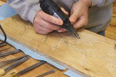 Carving Wood With A Dremel Images